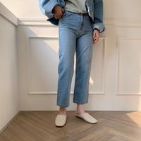 ✳︎予約販売✳︎damage croped jeans
