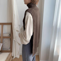 ✳︎予約販売✳︎unique knit vest/2colors_nt0139