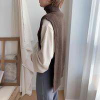 ✳︎予約販売✳︎unique knit vest/2colors_nt0139