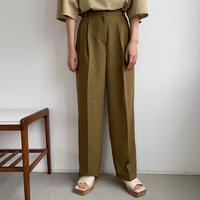 《予約販売》summer two tuck wide pants/3colors  _np0395