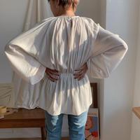 ✳︎予約販売✳︎waist mark puff blouse/2colors_nt0267