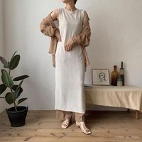 《予約販売》summer knit long ops_nd0046