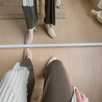 ✳︎予約販売✳︎bi-color quality pants/2colors_np0129
