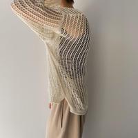 《予約販売》mesh loose knit/3colors_nt0921