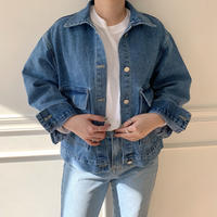✳︎予約販売✳︎pocket denim JK_no0003