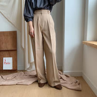 ✳︎予約販売✳︎high waist slacks pt/2colors_np0047