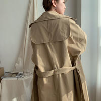 【nokcha original】quality trench coat/beige_no0081