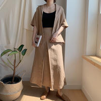 ✳︎予約販売✳︎tuck skirt set up