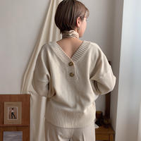 《予約販売》2face knit cardigan/2colors_nt0314