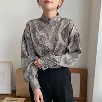 ✳︎予約販売✳︎marble puff blouse_nt0187