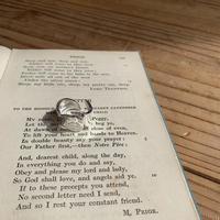 《予約販売》silver925 drop big ring_na0214