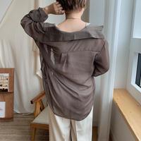 ✳︎予約販売✳︎sheer shirt/2colors