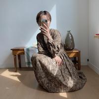 ✳︎予約販売✳︎leopard pleats ops/2colors_nd0022