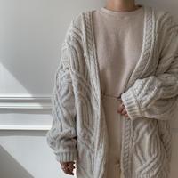 ✳︎予約販売✳︎ennui knit cardigan/2colors_no0021