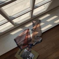 《予約販売》geometric pattern scarf/2colors_na0189