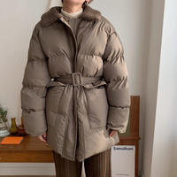 ✳︎予約販売✳︎2way fake down jacket/2colors_no0060
