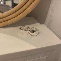 《予約販売》silver925 style big pierce_na0157
