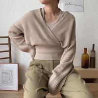 《予約販売》marc lady knit/2colors_nt0361