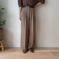 ✳︎予約販売✳︎belt set wide  pants_np0050