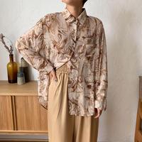 《予約販売》marble sheer ennui blouse/2colors_nt0603