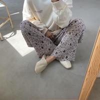 《予約販売》rincl patten sheer pants/2colors_np0363