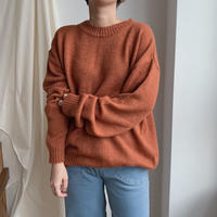 ✳︎予約販売✳︎over knit/2colors_nt0110