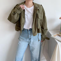 ✳︎予約販売✳︎minimal military JK