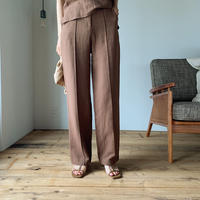 《予約販売》center press pants/2colors _ np0226