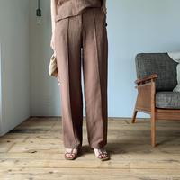 《予約販売》center press pants/2colors _ np0226