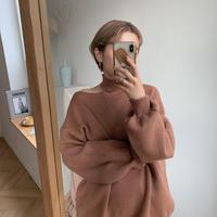 ✳︎予約販売✳︎neck knit pullover_nt0163