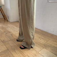《予約販売》slit long pants/2colors_np0182
