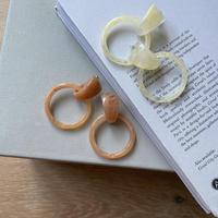 《予約販売》marbling sheer pierce/2colors_na0266