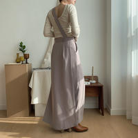 【nokcha original】docking all-in-one/milky gray_np0158