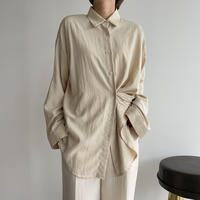 《予約販売》2way daily shirt/2colors_nt1078