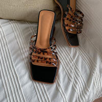 《予約販売》tortoiseshell sandal_na0173