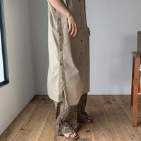 《予約販売》side bottan long shirt ops/2colors_nd0055