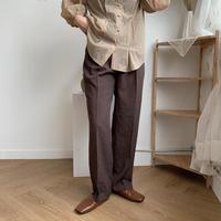 《予約販売》straight long pants/2colors_np0057
