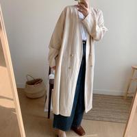 S/S double coat/2colors
