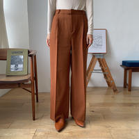《予約販売》a/w twill quality pants/2colors_np0285