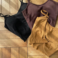 《予約販売》back closs bra camisole/3colors_nt0828