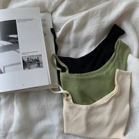 《予約販売》unbalance knit cami/3colors_nt0369