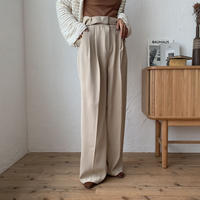《予約販売》belt set long pants/2colors_np0250