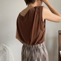《予約販売》dual tank top/2colors_nt0505