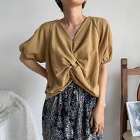 《予約販売》cache-coeur minimal blouse/2colors_nt0509