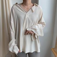 ✳︎予約販売✳︎silky blouse_nb0032
