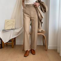 《予約販売》beige slacks_np0147