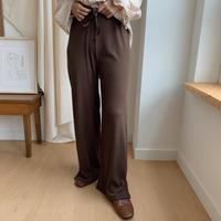 ✳︎予約販売✳︎wide rib pants/2colors_np0042