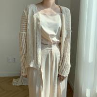 *予約販売*summer knit cardigan