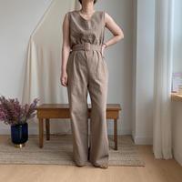 ✳︎予約販売✳︎ belt set linen all-in-one/2colors