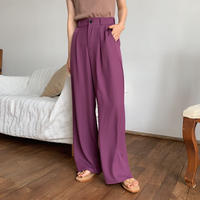 《予約販売》texture wide pants/2color_np0242